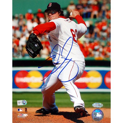 mlb-boston-red-sox-eric-gagne-home-pitching-vertical-photograph-16x20-inch