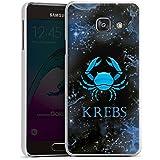 Samsung Galaxy A3 (2016) Housse Étui Protection Coque Crabe Signes du zodiaque Astrologie