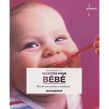 Livre recettes pour bébé Hachette