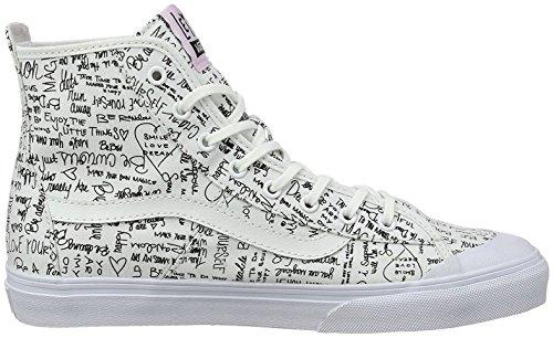 Vans WM Dazie-Hi, Sneaker Alte Donna Bianco