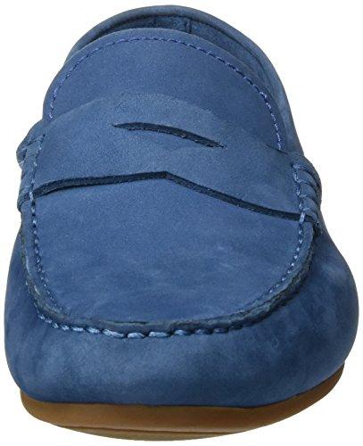 Clarks Herren Reazor Drive Mokassin Blau (Blue Nubuck)