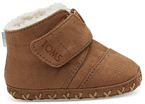 TOMS Unisex Baby Tiny Cuna Toffee Babys, Braun 000, 19.5 EU