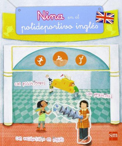 Nina en el polideportivo inglés por Pilar Garí de Aguilera