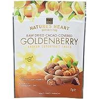 Terrafertil Raw Chocolate Covered Golden Berries 75 g (Pack of 5)