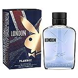 Playboy London Eau De Toilette Spray for Men 3.4 Ounce