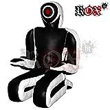 Soumission style combat Sucette par Rox Coupe Double face, perforation frappant Sucette brazilaian jiujistsu Formation Sac 5m & 6m Noir/Blanc (vide) noir Noir/Blanc 6 Foot (1.8 meters)