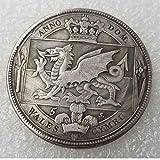 YunBest Morgan Silver Dollars – British 1887 Couronne galloise Ancienne pièce de Monnaie Ancienne en Argent...