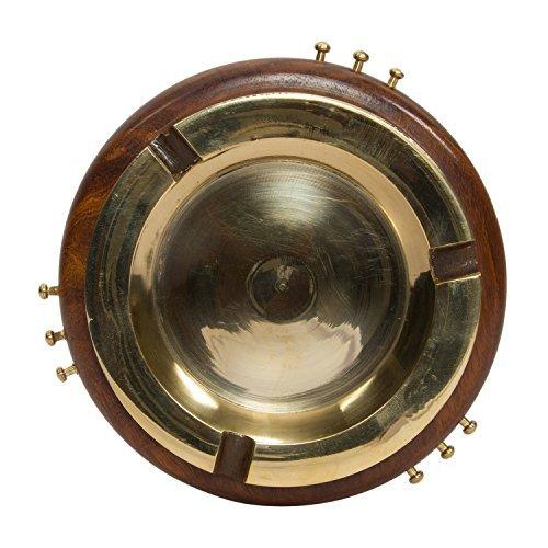 Marmor-glas-schüssel (Spezielles Valentinstaggeschenk, Hölzerne Aschenbecher-runde Form, mit goldener Farben-Schüssel, einzigartige Aschenbecher, im Freienzigarette für Raucher)