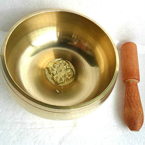 Relax And Relieve Stress Percussion Wishing Tibetische Klangschalekaliber 8Cm, 9.5Cm Mit ZubehöR Und Geschenk Box Klangtherapie Achtsamkeit Meditation Yoga FüR Buddhismus Aus Metall Handgefertigt