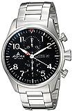 Alpina Startimer de los Hombres de 'Swiss automático Reloj Casual Acero Inoxidable, Color: Silver-Toned (Modelo: al-725b4s6b)