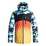 Herren Snowboard Jacke Quiksilver Mission Engineered Print Jacke