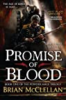 Promise of Blood par McClellan
