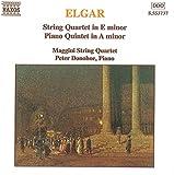 Elgar Streichquartett und Klavierquintett Magg