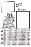 Calendrier plastifié A3personnalisable 2photos 2019mural Rome Citta '