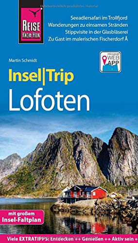 Reise Know-How InselTrip Lofoten: Reiseführer mit Insel-Faltplan und kostenloser Web-App (Web Services Buch Amazon)