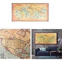 Suchergebnis Auf Amazonde Für Antike Weltkarte Poster