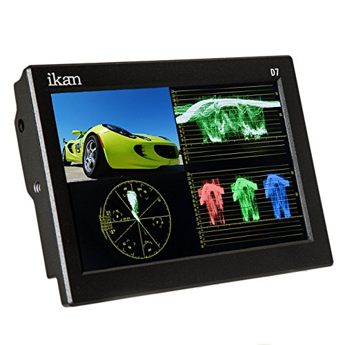 IKAN D7w-2 17,8 cm (7 Zoll) 3G-SDI LCD Monitor mit IPS Panel (Waveform) 3g Lcd