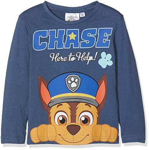 Nickelodeon paw patrol chase, t-shirt bambino, (blue 19-4026tc), 6 anni