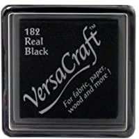 VersaCraft vks-182Stempel Stoff, kleiner Cube 25x 25mm Real schwarz