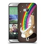 Head Case Designs Topf Mit Gold Random Regen Ruckseite Hülle für HTC One M8 / M8 Dual SIM