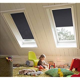Sicht- und Sonnenschutzrollo für Velux Fenster - sun collection - Profile weiß - GGL GPL GGU GPU F06