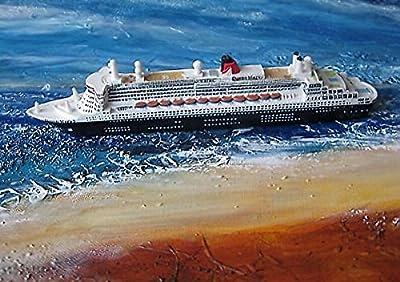 Schiffsmodell Queen Mary 2 Miniatur Boot Schiff Deko