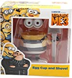 Your Favourite Character - Children Kids Boy Girl Boys Girls - Number One Selling Minion Egg Cup and Shovel - Wonderful Idea for Stocking Filler Christmas Xmas Easter or Birthday Present Gift - Age 3+