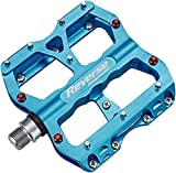 Reverse Escape Flat, pedale per bicicletta mountain bike, downhill, hellblau