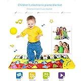 MAICOLA 70x27CM Baby Piano tappeti Gioco Musica Tappeti precoce educazione Newborn Kid Touch Play Gioco della Moquette Musicale Mat Regalo Giocattoli Musica
