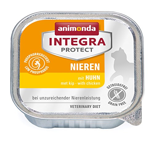 Animonda Integra Protect Nassfutter, 16 x 100 g, Huhn