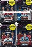 Match Attax 2018 2019 Topps UEFA Champions League Kartenspiel Mega-Sammler-Dose mit 60 Karten inklusive einer Limited Edition Super Squad Karte und 15 exklusive Einsteckkarten