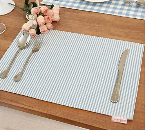 GYMNLJY Double duaux tapis coton recto-verso place tapis isolant . 30*45cm