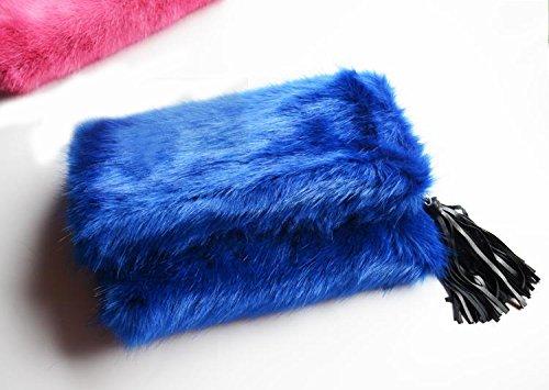 Zarapack , Pochette pour femme noir noir Taille L bleu