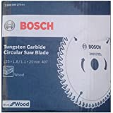 Bosch 2608644275 TCT Wood Circular Saw Blade, 125 x 20, 40 Teeth, Eco Series