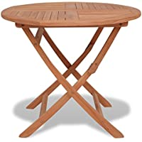 Amazon.fr : Table ronde teck - Tables de jardin / Tables : Jardin