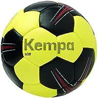 Kempa Leo Balón de Entrenamiento, Negro/Lima/Rojo, 1