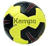 Kempa Kinder Leo Bälle schwarz/limonengelb/Rot, 0