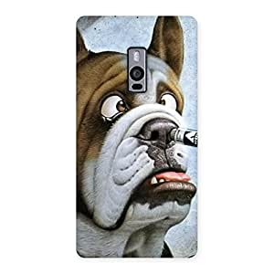 Gorgeous Big Face Dog Back Case Cover for OnePlus Two