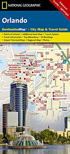 Orlando: 1:23200 (National Geographic Destination City Map)
