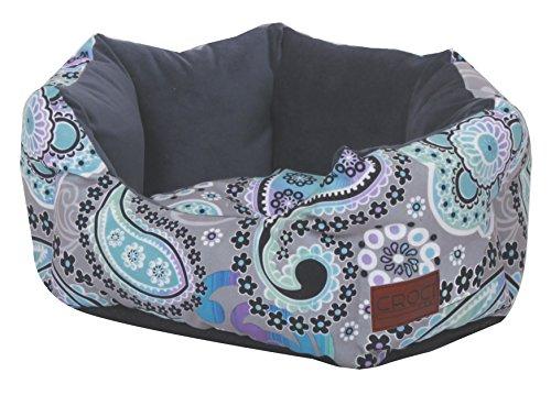 Bild von: Croci C2078982 Bett Oval Hippie Waves 40 x 32 x 16 cm