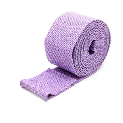 Beautyrain Stretch Strap Elastic Yoga Pilates Körper förmige Verlängerung Gürtel Fitness Übung Trainingsgeräte Nylon (Hängende Riemen übung)