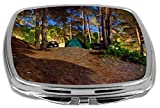 Rikki Knight Compact Mirror, Camping Site At Night, 3 Ounce Amazon