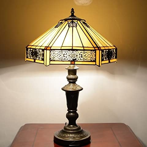 Tiffany 16 inch Table Lamps Tiffany Style Handcrafted Lights (S01116+580-16UK)