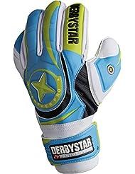 Derbystar Panther Pro Gants de gardien de but (Blanc/Bleu)