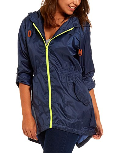Women's Waterproof Rain Jacket: Amazon.co.uk