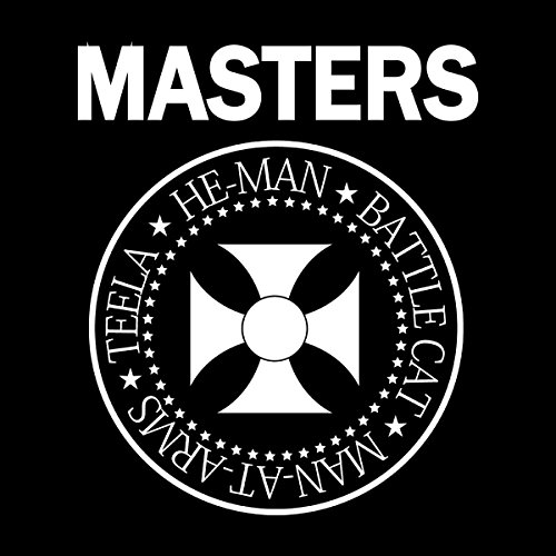 He Man And The Masters Of Universe Ramones Logo Women's Vest Black