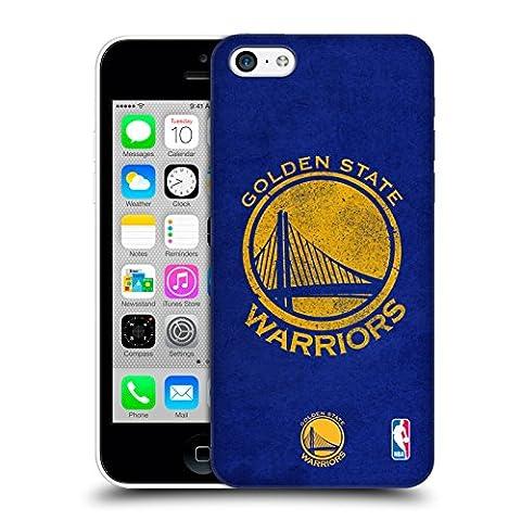 Officiel NBA Affligé Golden State Warriors Étui Coque D'Arrière Rigide Pour Apple iPhone 5c