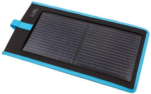 EnerPlex Ascent Kickr II blau Flexibles CIGS Solarmodul 3Wp Solarladegerät für Handy Smartphone PDA iPhone iPad MP3-Player