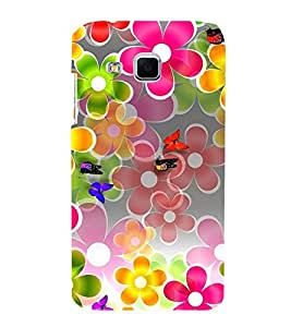 Vizagbeats Butterflies and Flowers Back Case Cover for Samsung Galaxy J2 2016 Edition