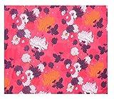 Cosynee rosa Farbe mit Blumenmuster aus reiner Baumwolle